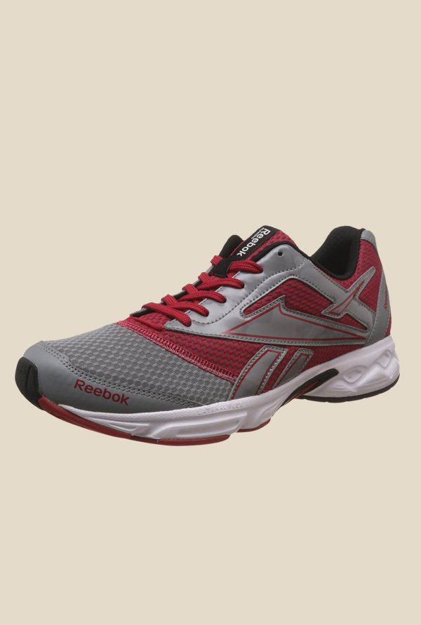 Reebok Cruise Runner LP Grey & Maroon Running Shoes