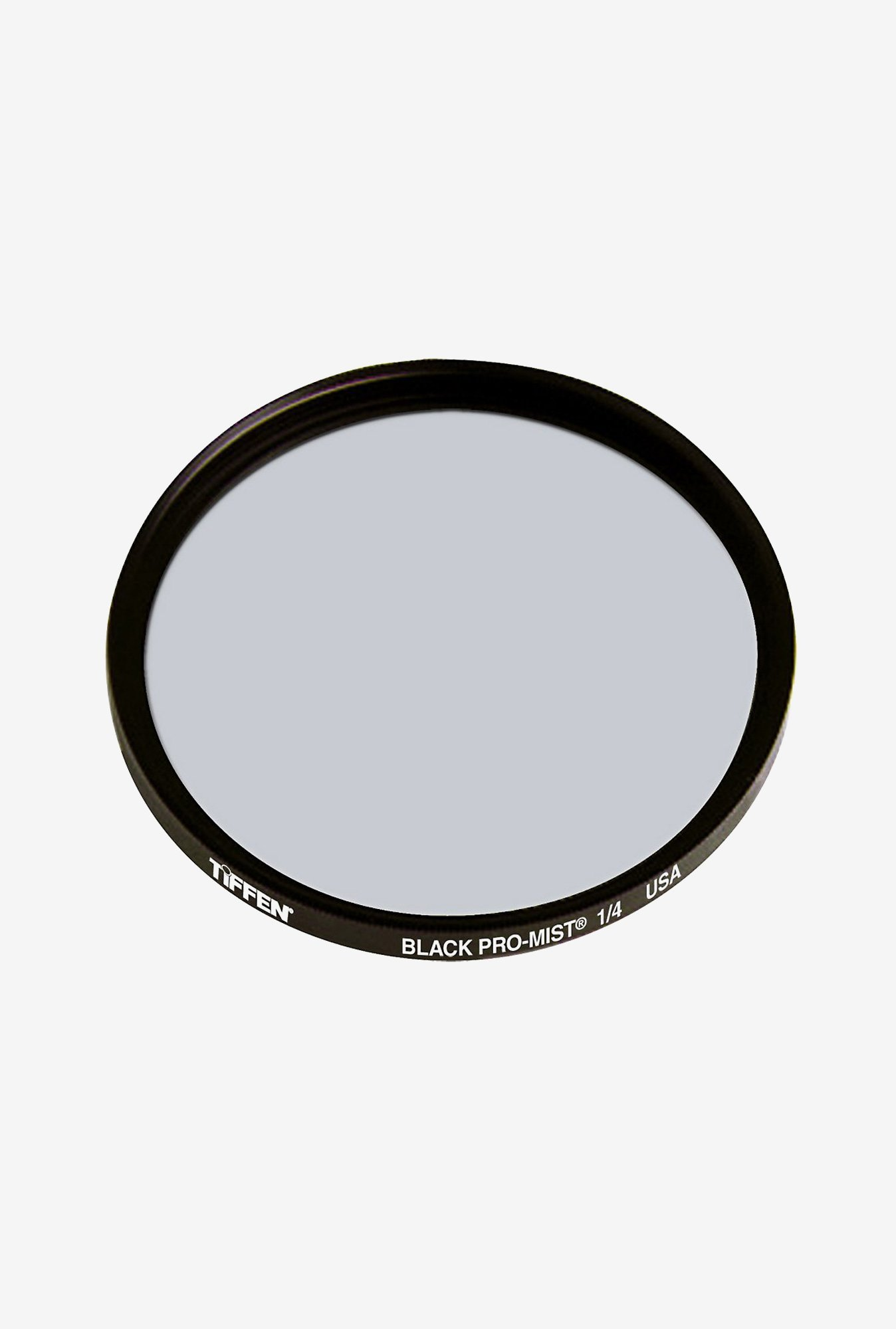 Tiffen 52mm Black Pro Mist 1/4 Filter (Black)
