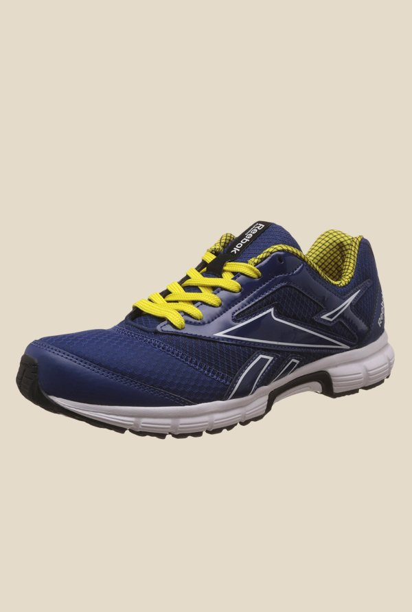 Reebok Cruise Runner Blue & Yellow Running Shoes