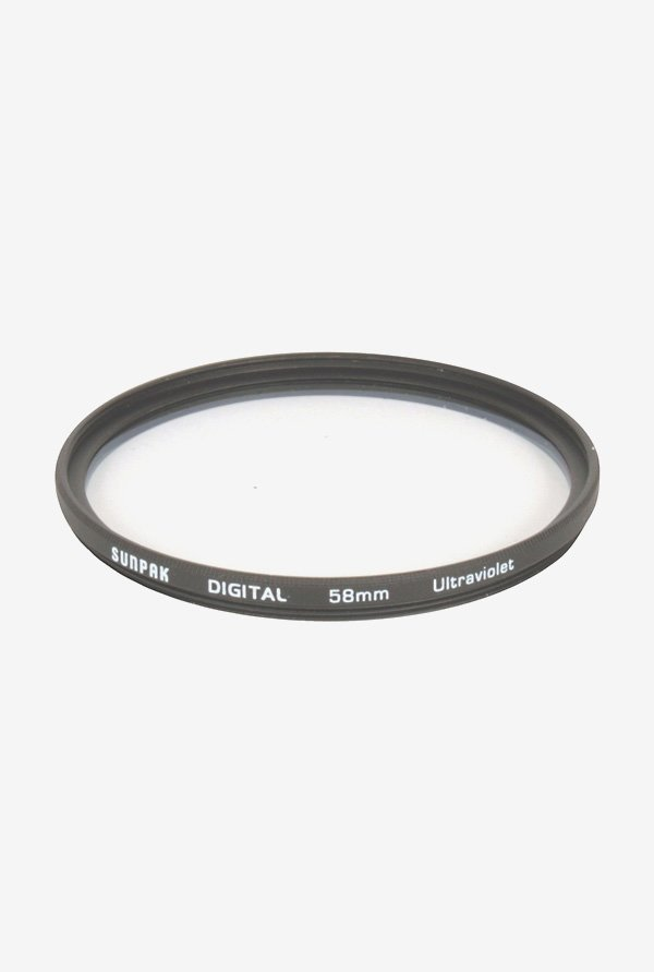 Sunpak Cf-7034-Uv 58mm Uv Camera Filter (Black)