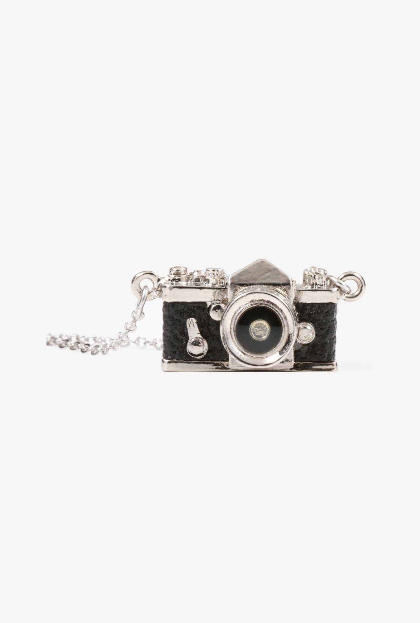 Japan hobby tool Miniature Camera Necklace SLR (Black)