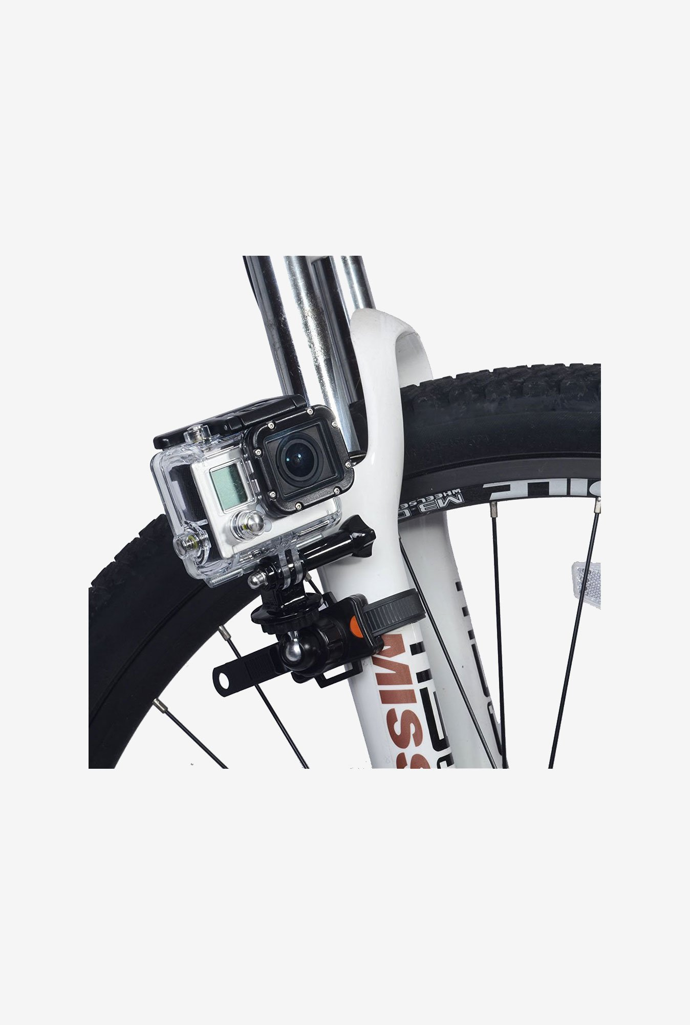 Neewer Bike Quick Release Zip-Tie Style Strap Mount (Black)