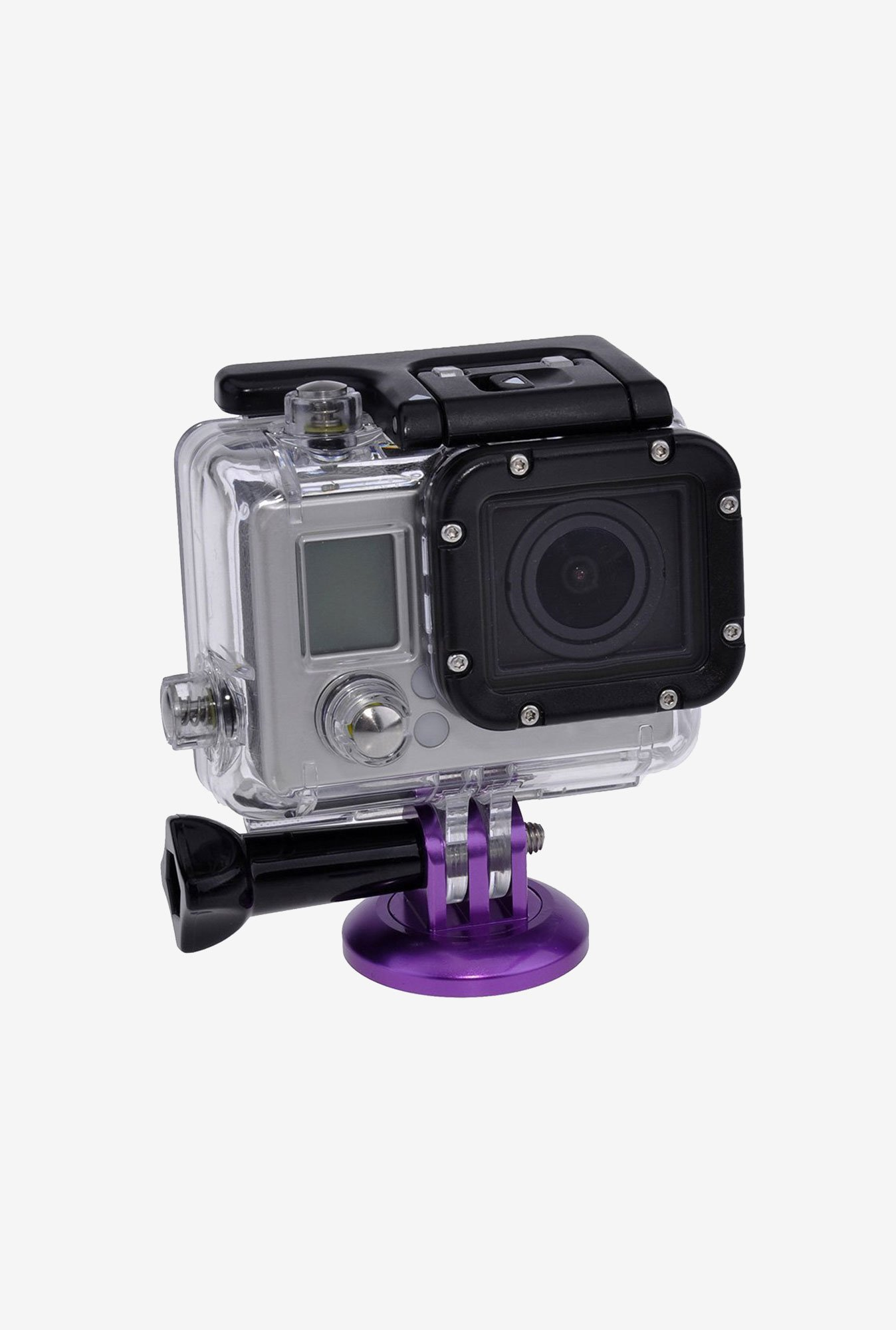 Neewer Camera Aluminum Tripod Head Adapter Mount (Purple)