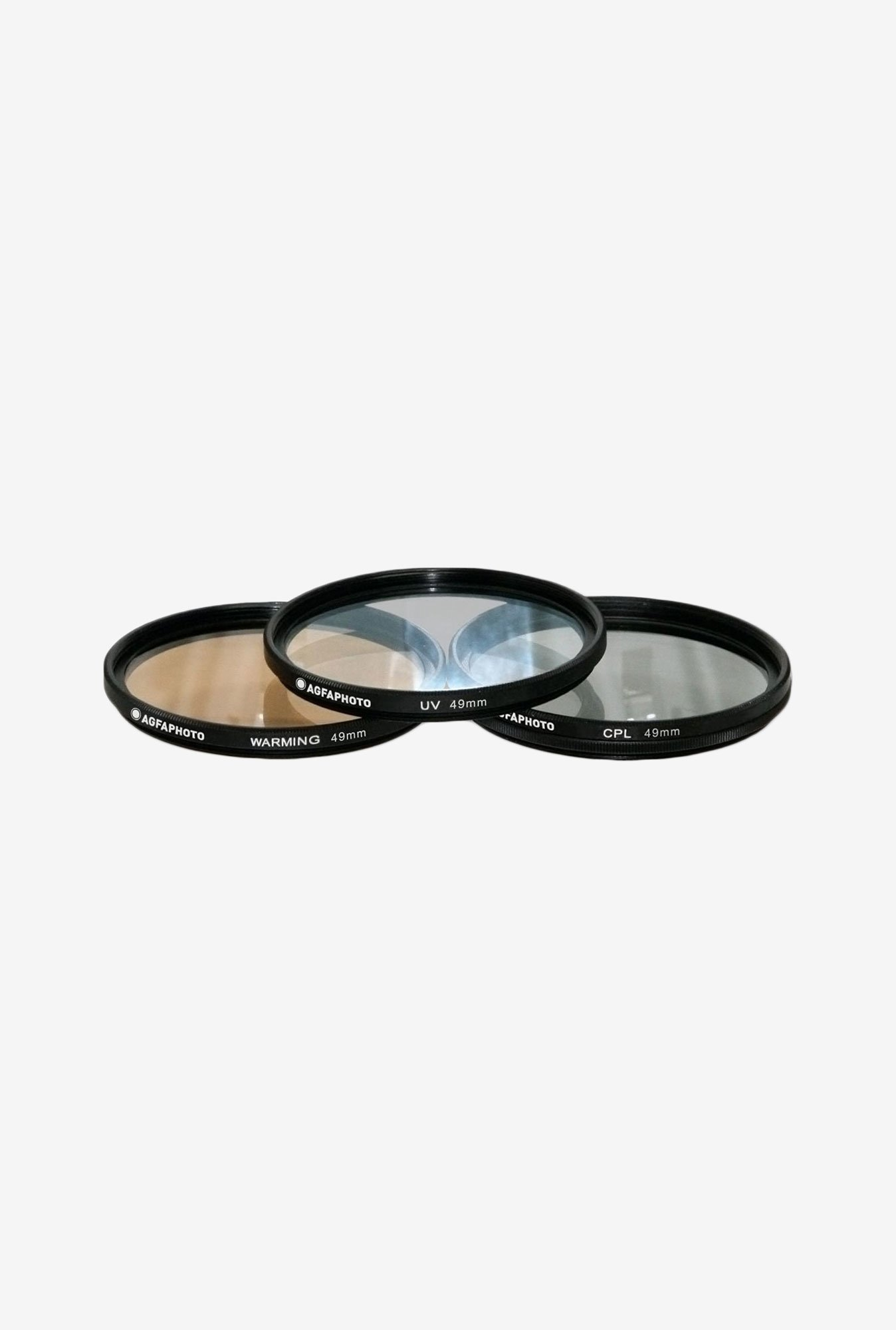 Zeikos APFTK49 49mm 3- Piece Professional Filter Kit (Black)