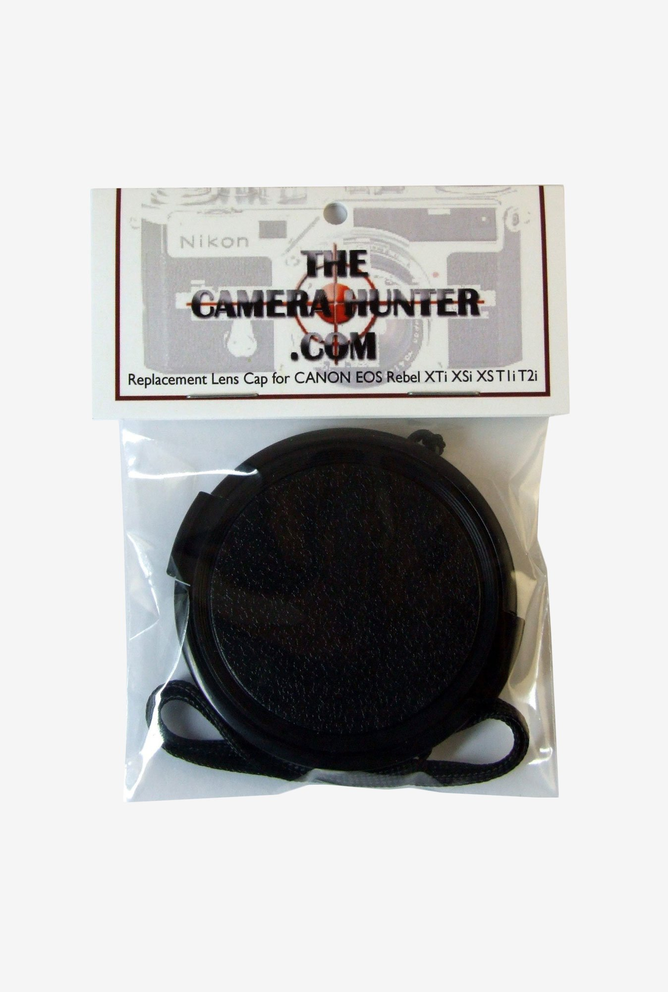 The Camera Hunter CANT81058 Lens Cap for Canon (Black)