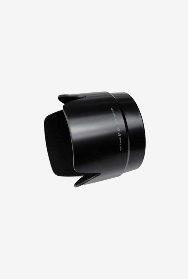 Fotodiox Dedicated Lens Hood, for Canon Eos Ef (Black)