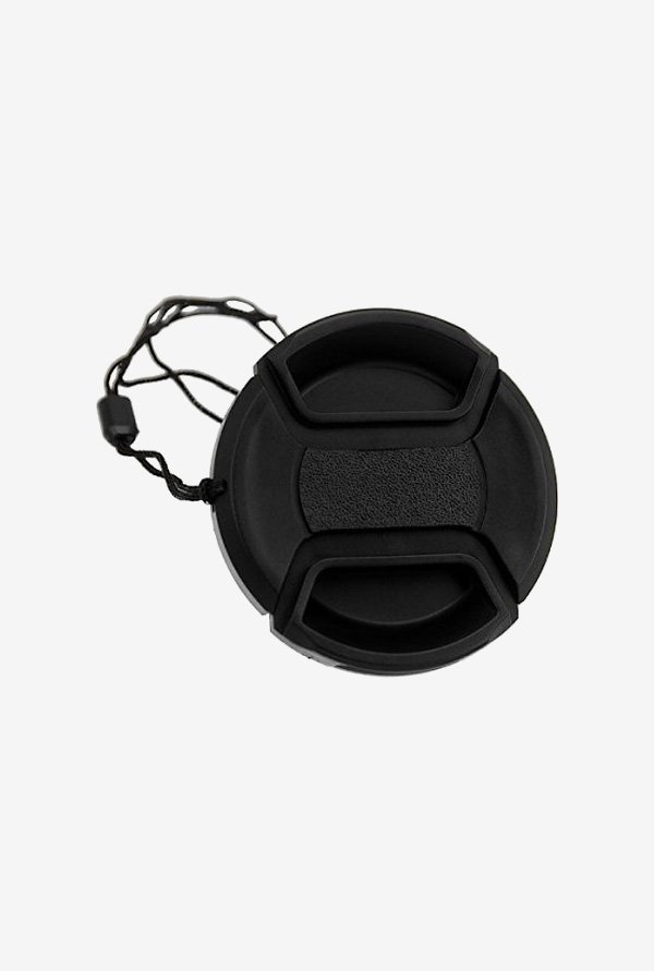 Fotodiox 58Mm Inner-Pinch Lens Cap, with Cap Keeper (Black)