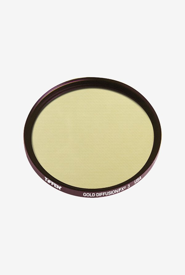 Tiffen 67GDFX3 67mm Gold Diffusion 3 Filter (Black)
