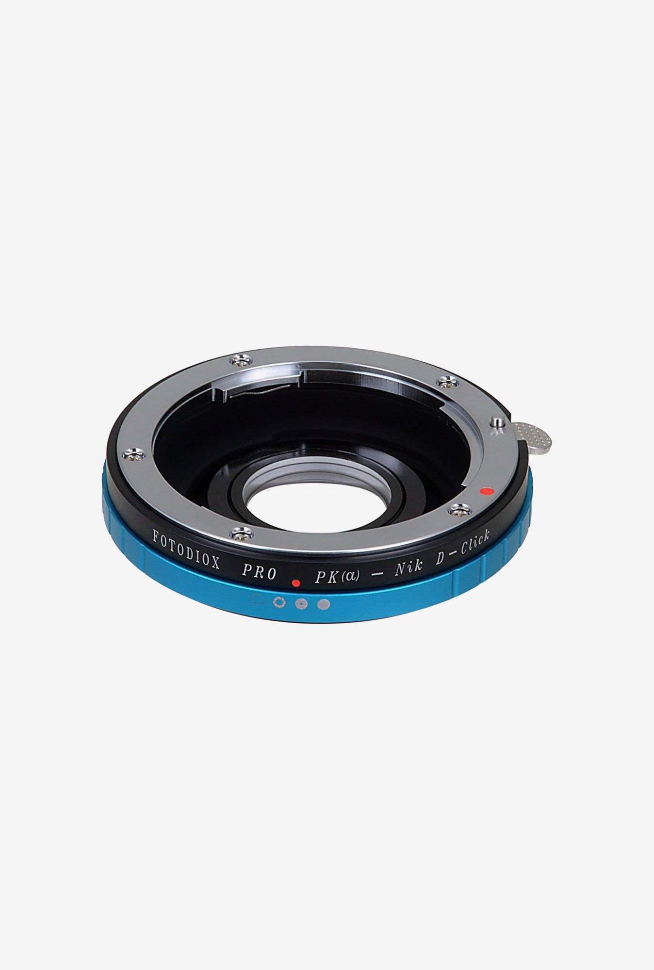 Fotodiox PENTAX K-NIKON Lens Mount Adapter (Black/Blue)