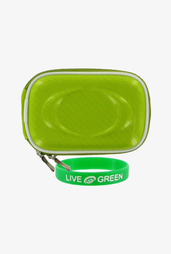 Young Micro Hard Shell Case for Digital Camera (Green)