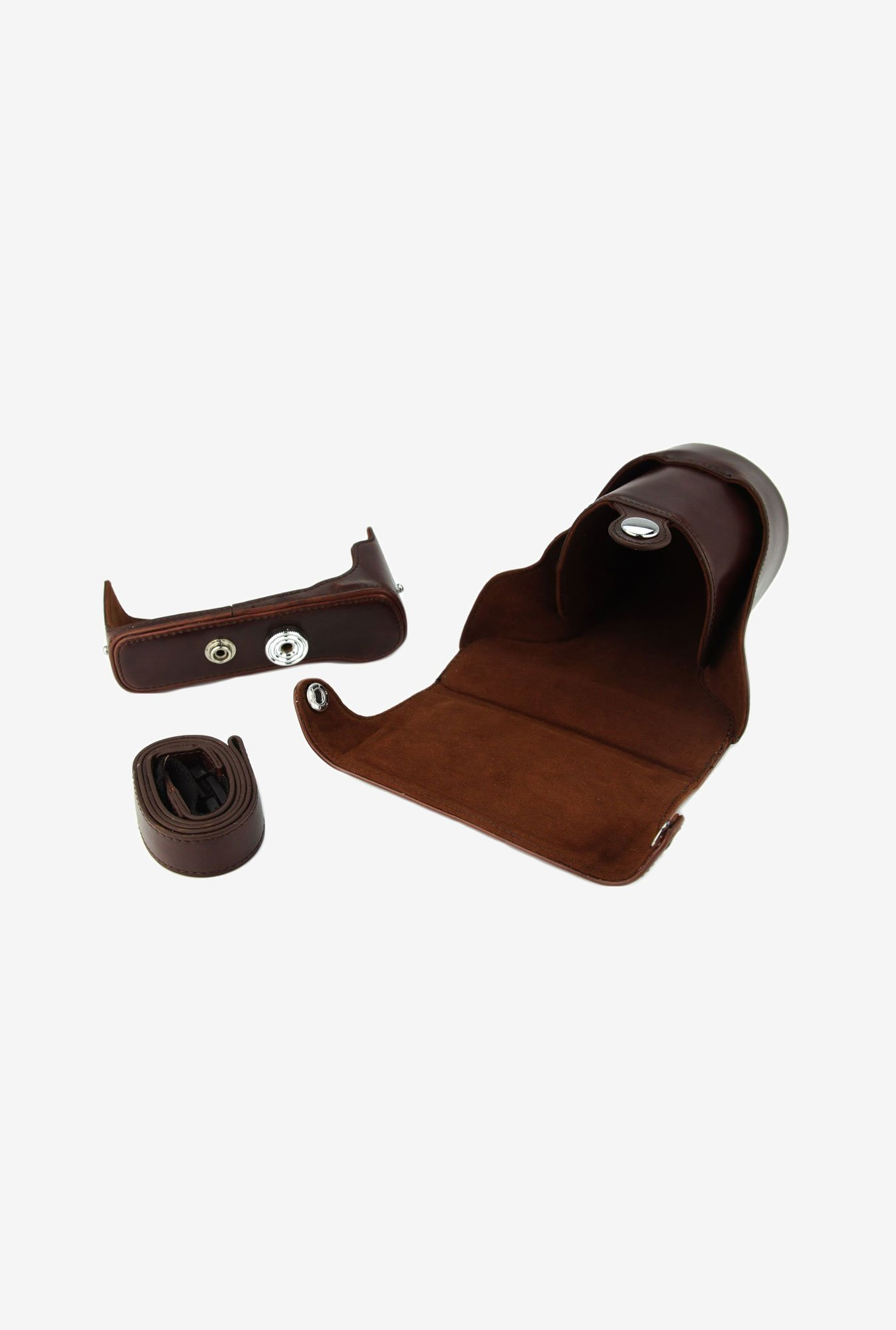TechCare Leather Camera Case for Fujifilm X-E2 (Brown)
