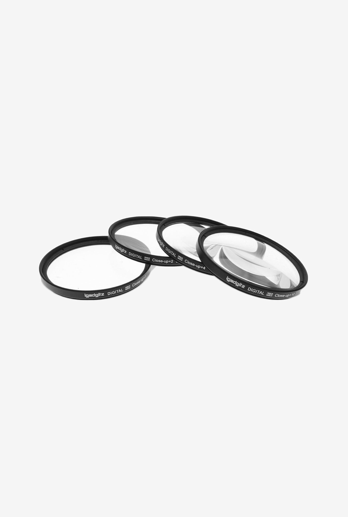 iGadgitz Xtra 77mm Zoom Magnifying Lens Filters (Black)
