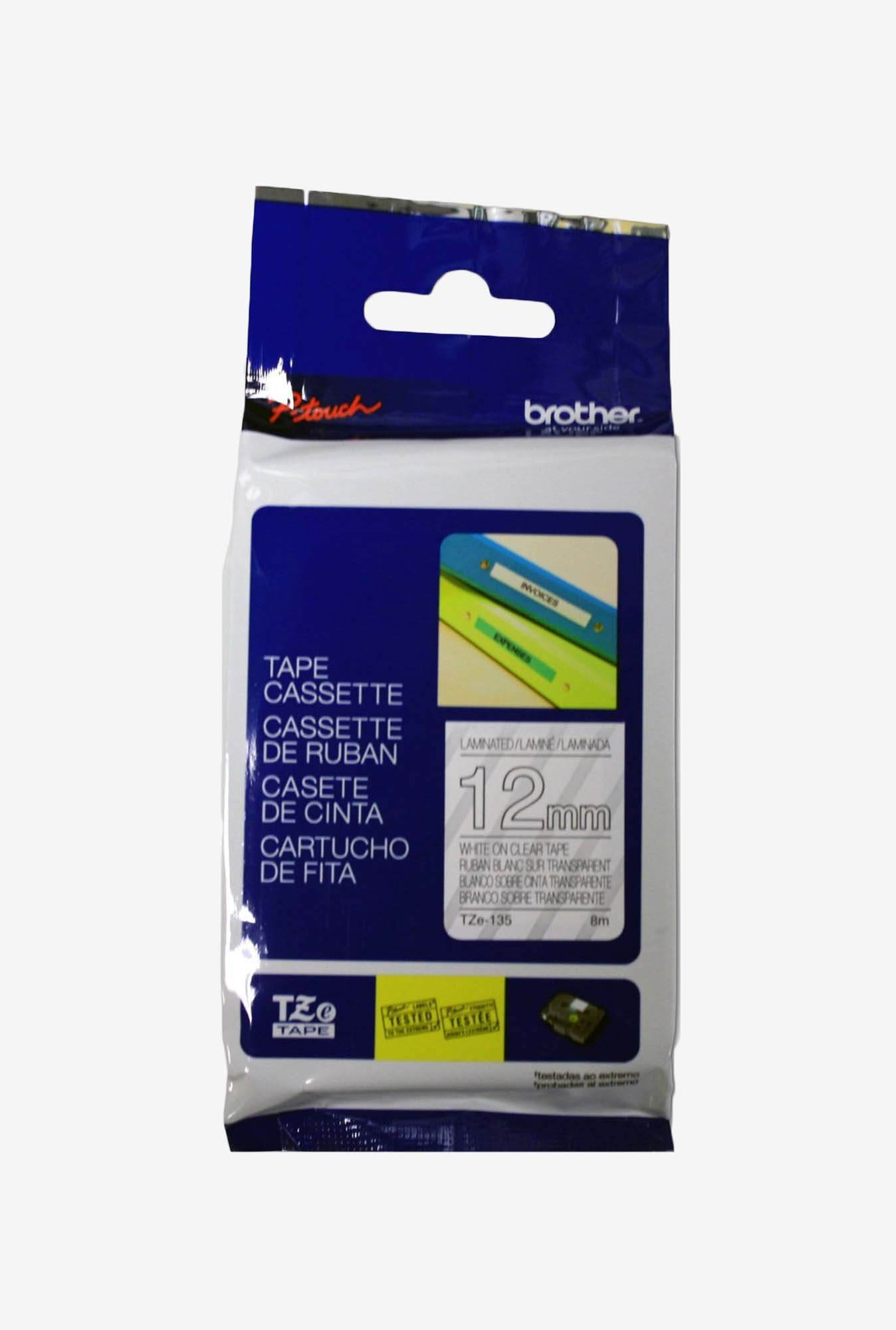 Brother TZe135 Laminated Tape for P-Touch Labellers