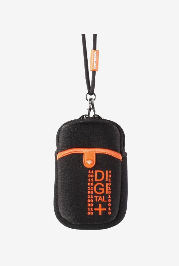Vanguard Beneto 6C Camera Pouch (Black/Orange)