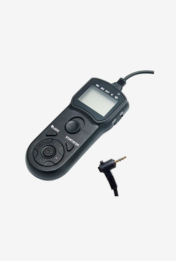 JJC TMC LCD Timer Remote Control for Canon (Black)