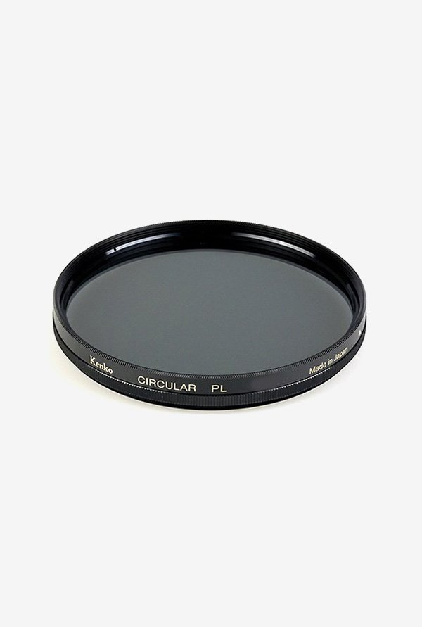Kenko 55mm Standard Coated Circular Polarizer Filter (Black)