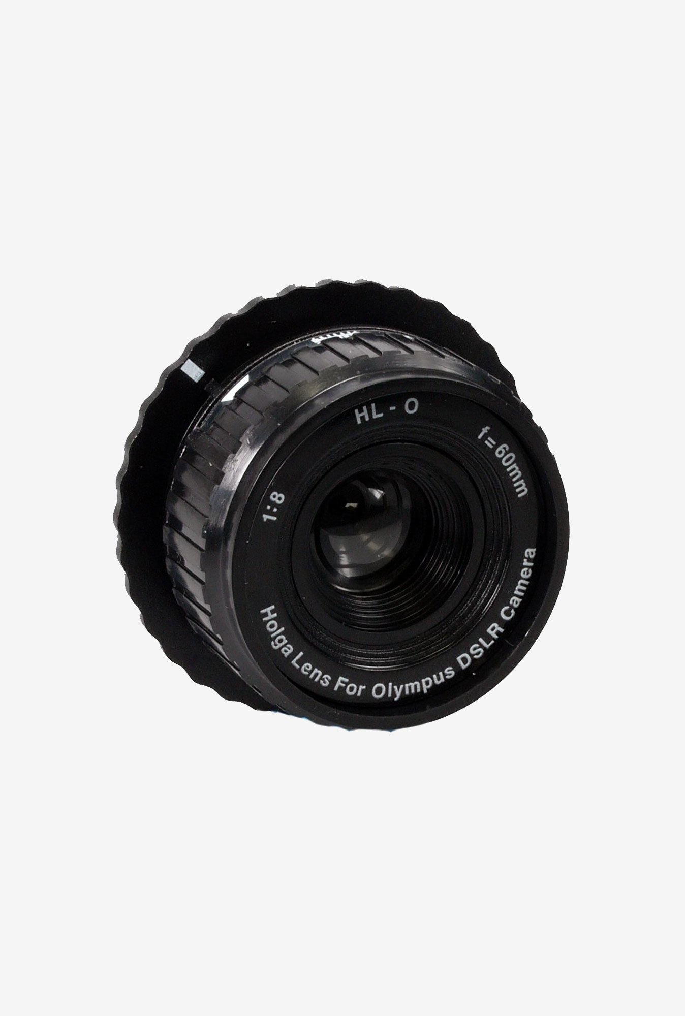 Holga 315120 60mm Holga Lens for Olympus DSLR Camera (Black)