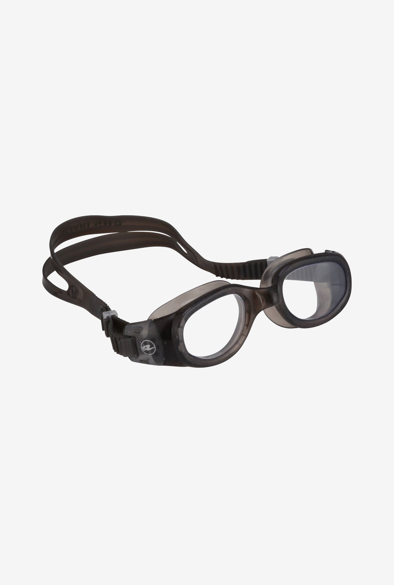 U.S. Divers Junior Medley Goggle with Clear Lens (Black)