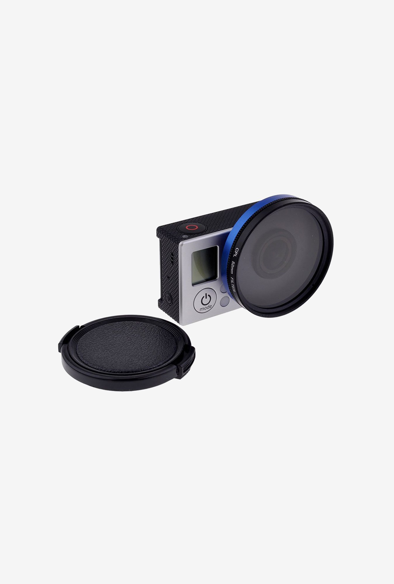 Neewer 52Mm CPL Filter Set For Gopro Hero 3/3+/4 (Blue)