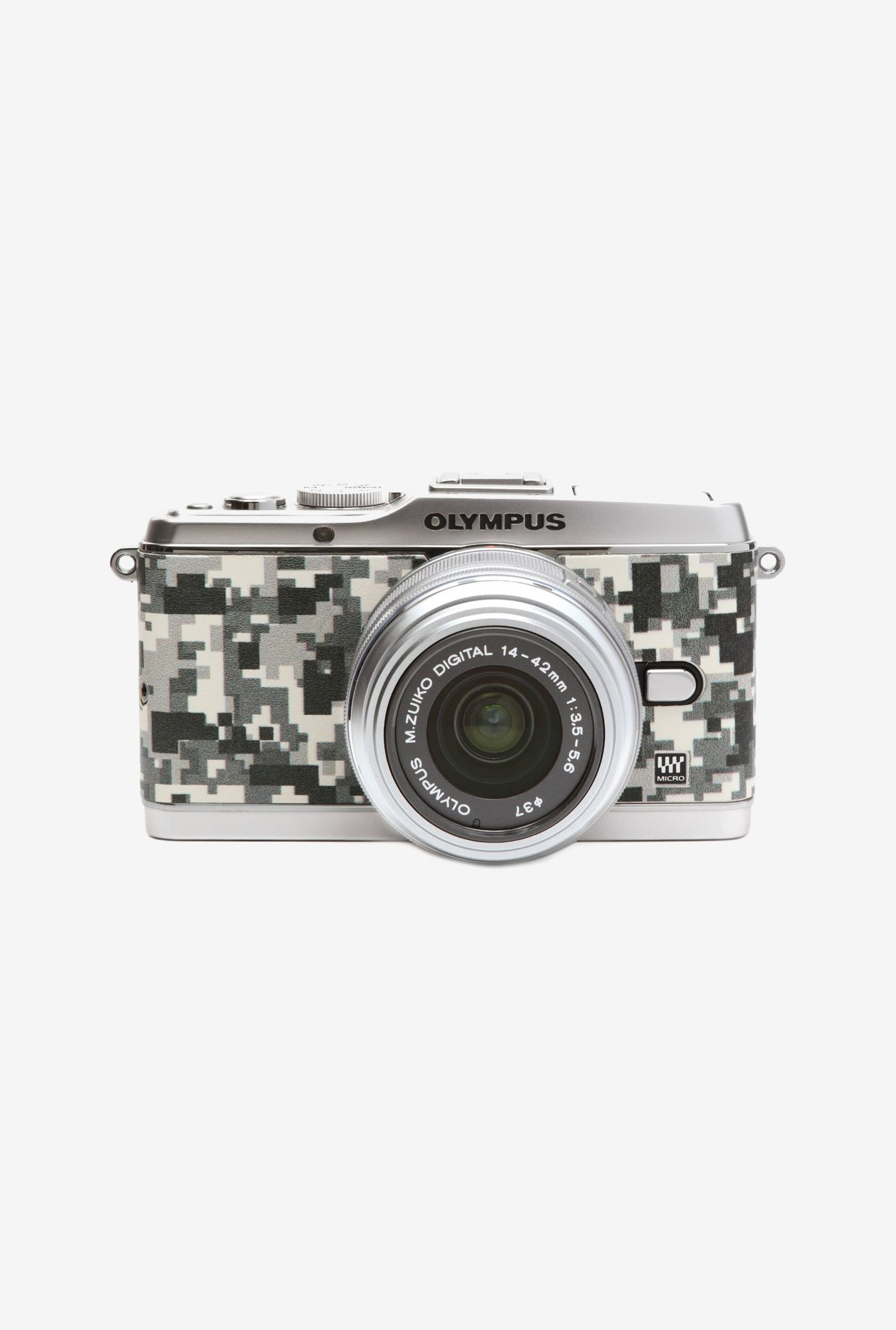 Japan hobby tool Olympus E-P3 Leather Sticker (Camouflage)