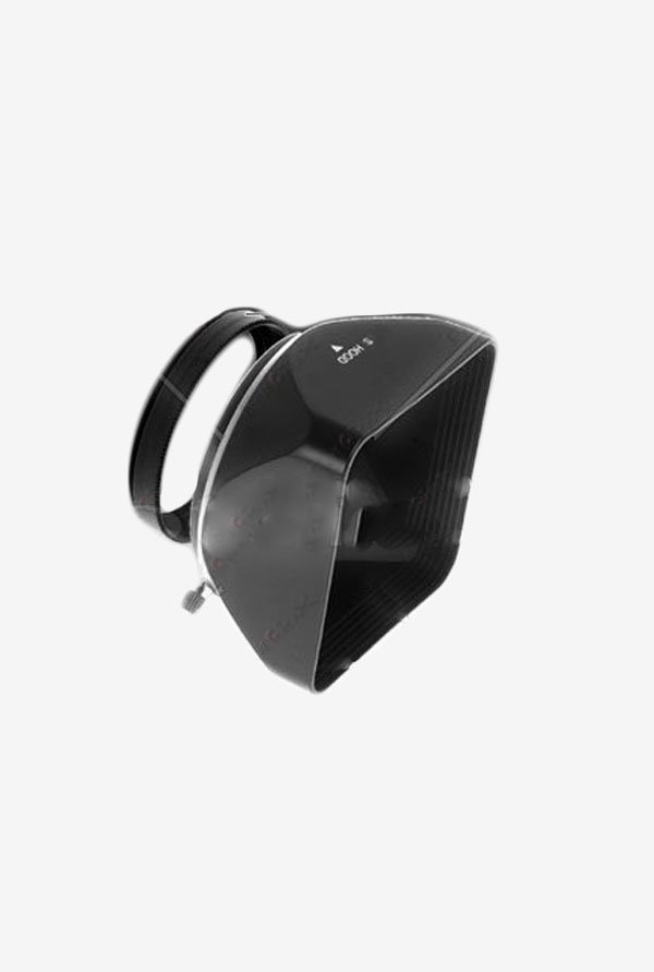 Fotodiox 04SHD49B 49mm Square Camera Lens Hood (Black)