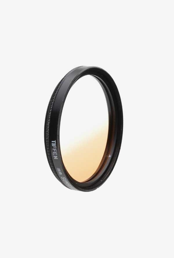 Tiffen 58SUN 58mm Color Graduated Sunrise Filter (Black)