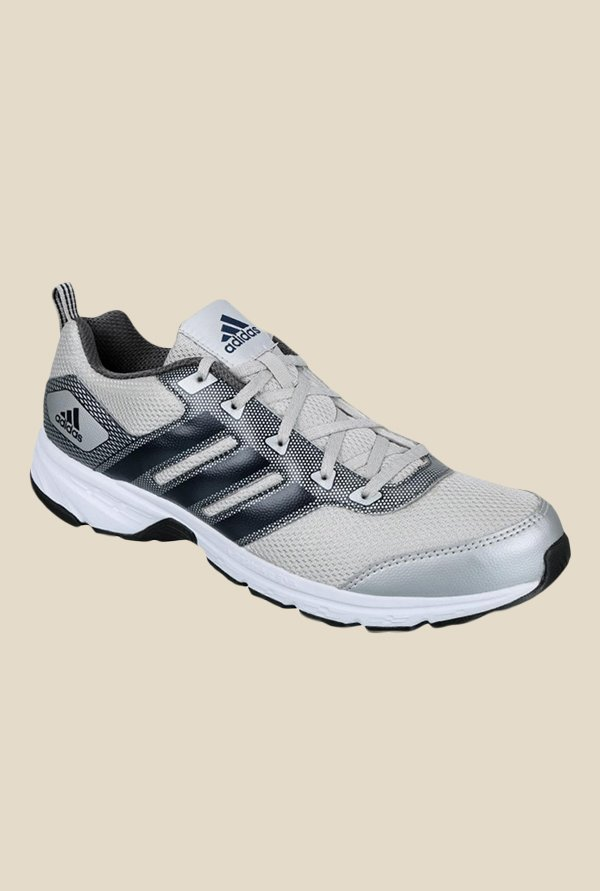 Adidas Alcor 1.0 Grey & Navy Running Shoes