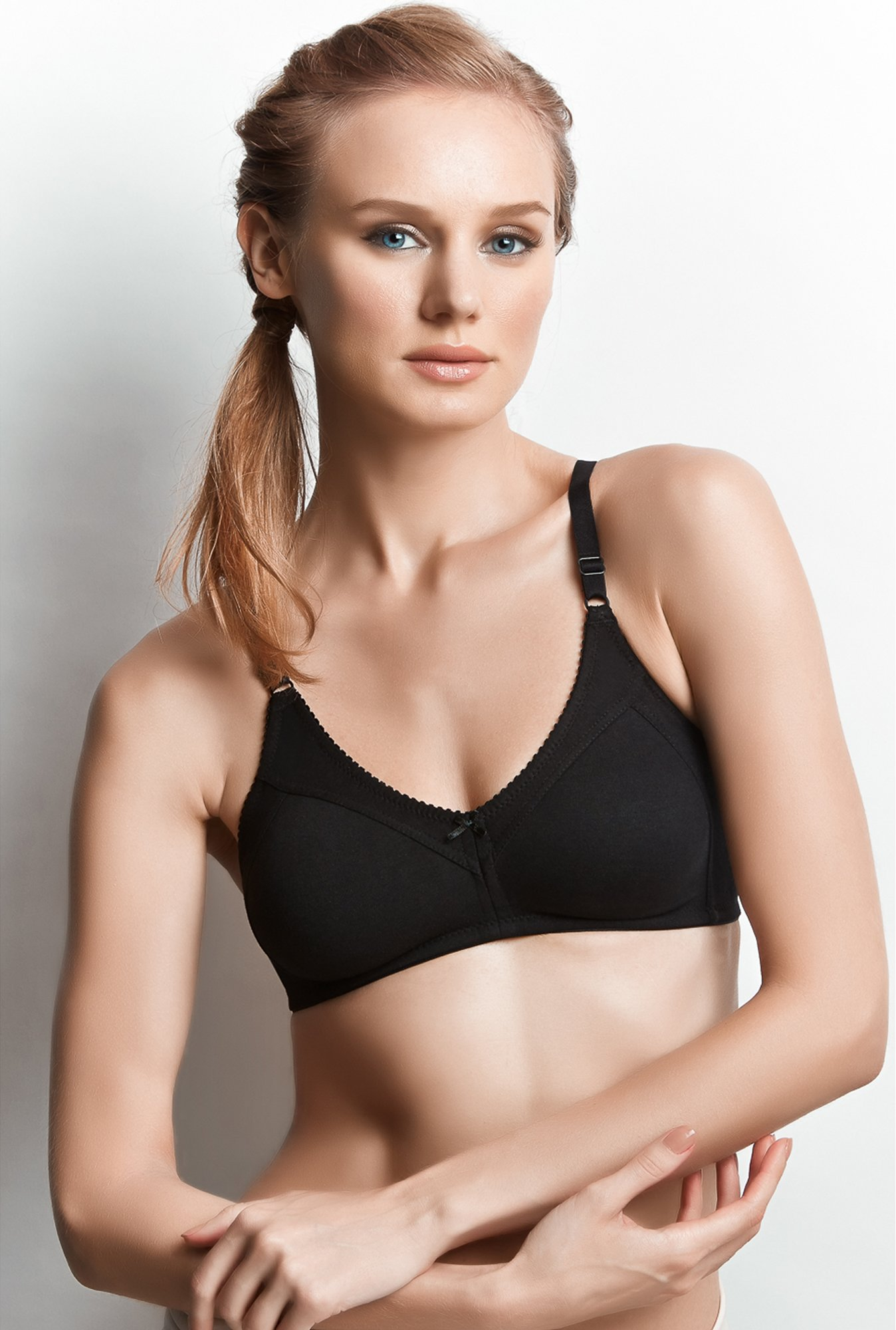 Libertina Black Fabulous Non-wired Bra