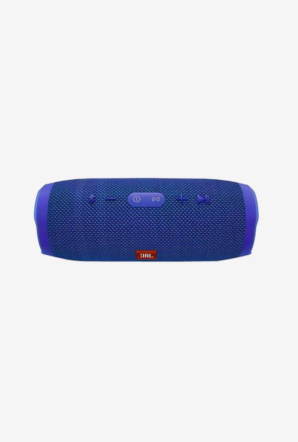 JBL Charge 3 Portable Bluetooth Speaker (Blue)
