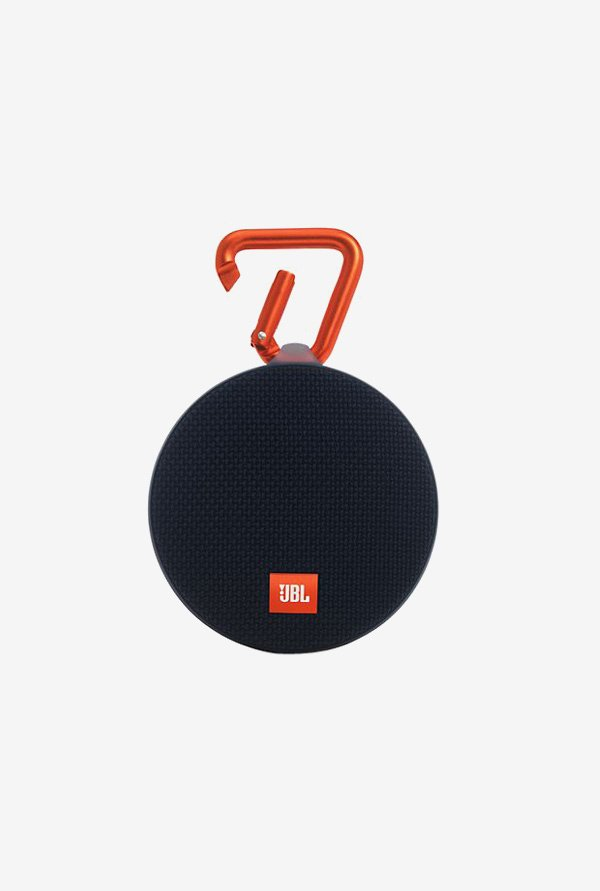 JBL Clip 2 Bluetooth Speaker (Black)