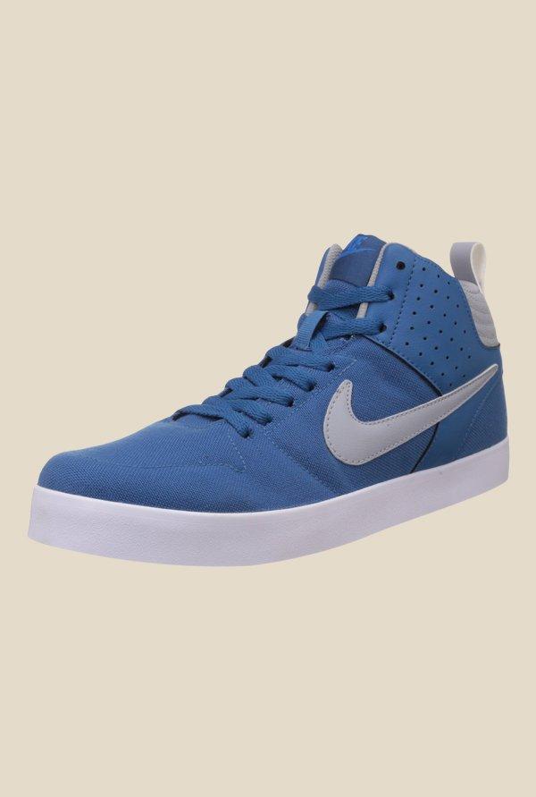 8cf628d7832 Buy Nike Liteforce III Mid Brigade Blue   Wolf Grey Sneakers for Men ...