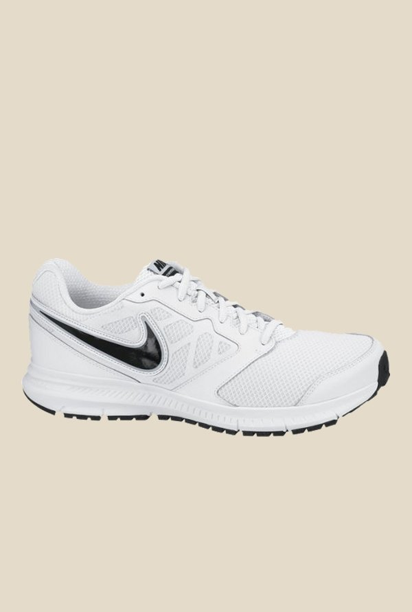 5fab566351824 Buy Nike Downshifter 6 MSL White & Black Running Shoes for Men at Best  Price @ Tata CLiQ