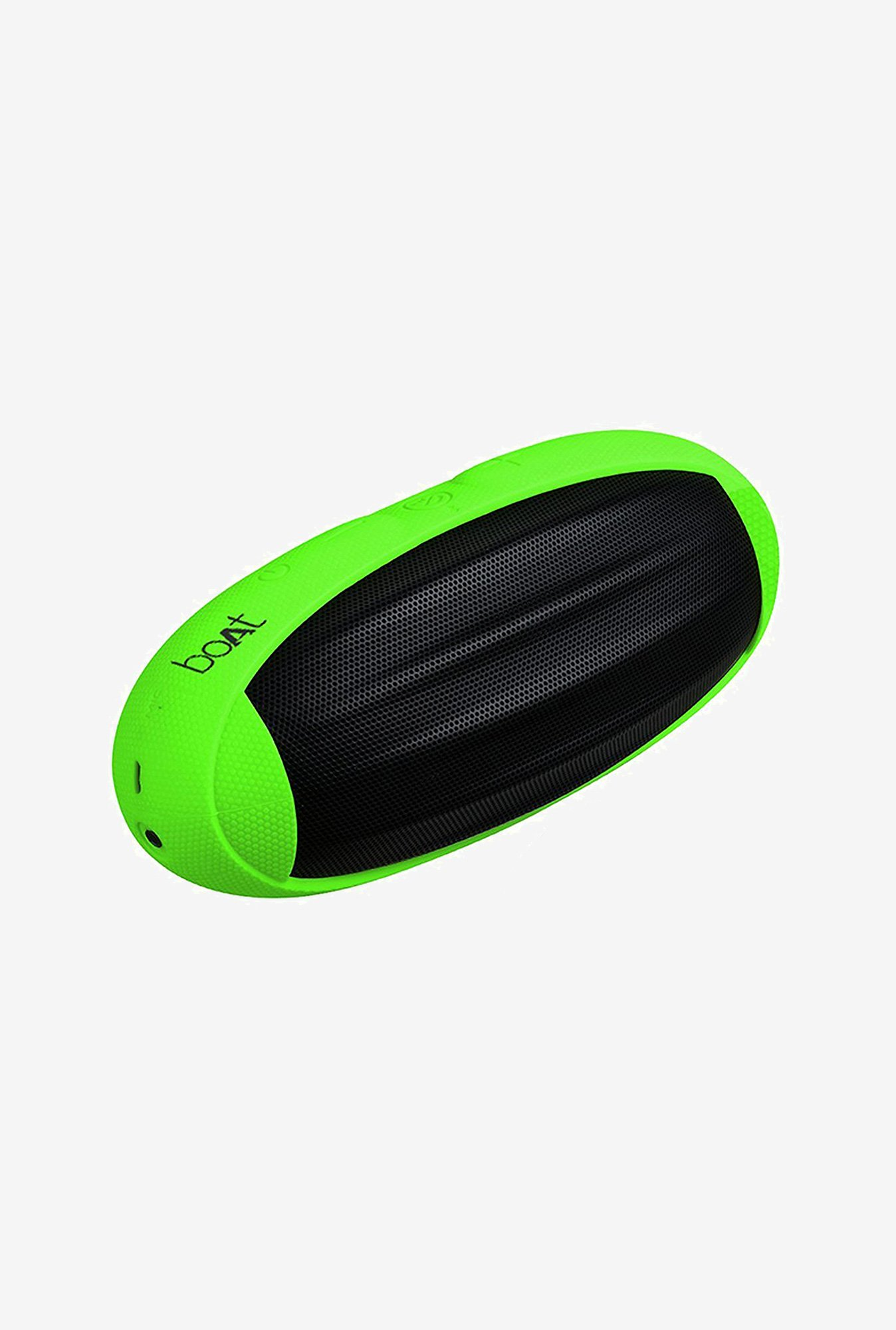 Boat Rugby Wireless Portable Stereo Speaker (Green)