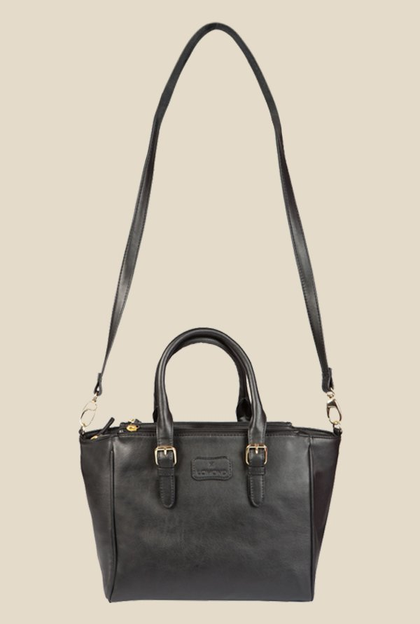 Lomond LM155 Black Trapeze Handbag