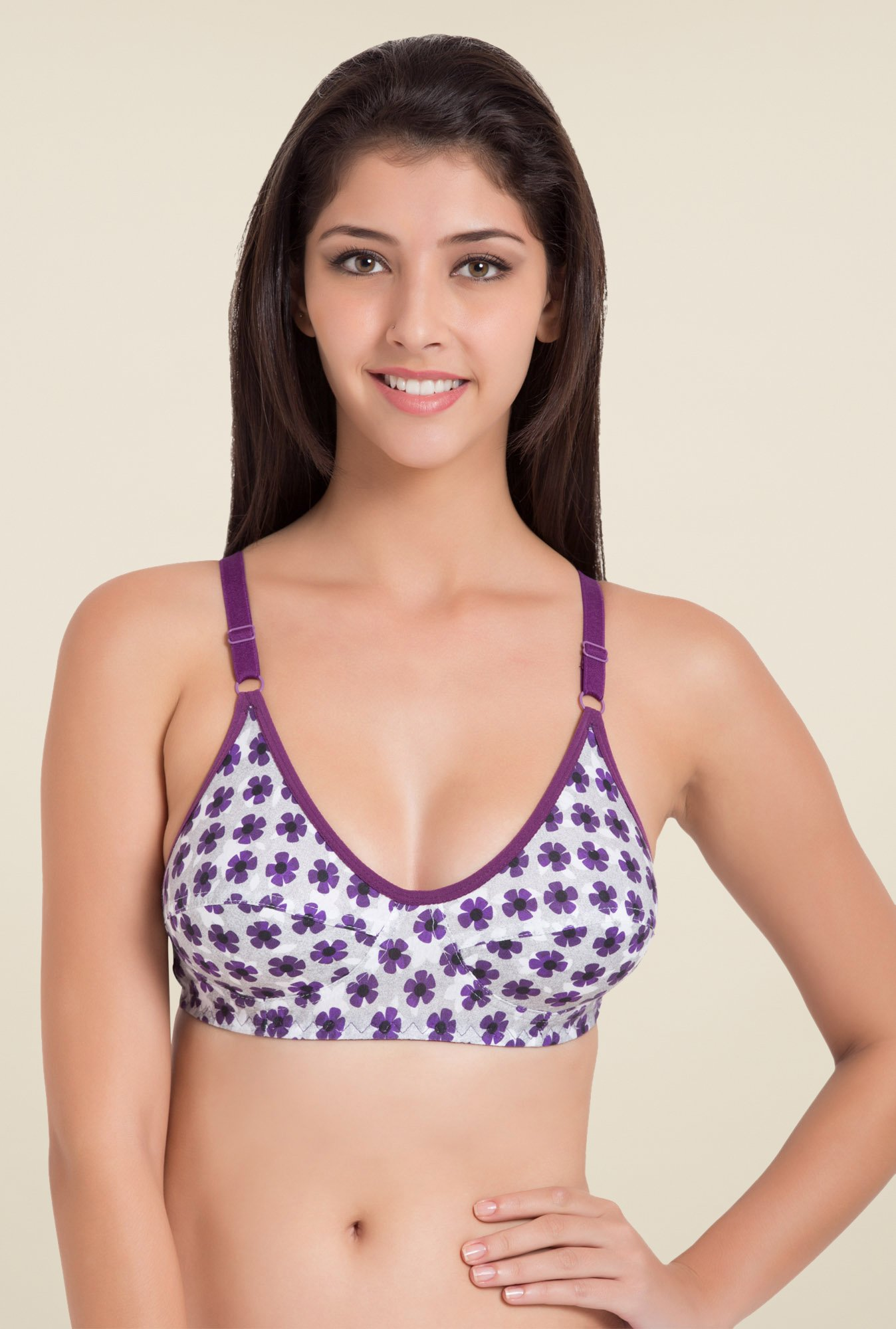 Souminie Purple Non Padded Bra