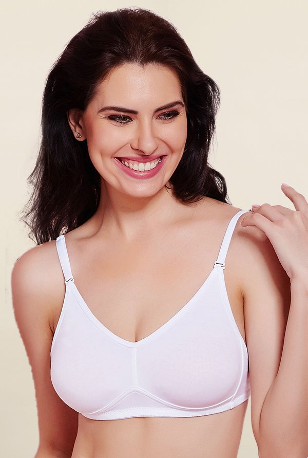 Rosaline By Zivame Off White Non Padded Bra