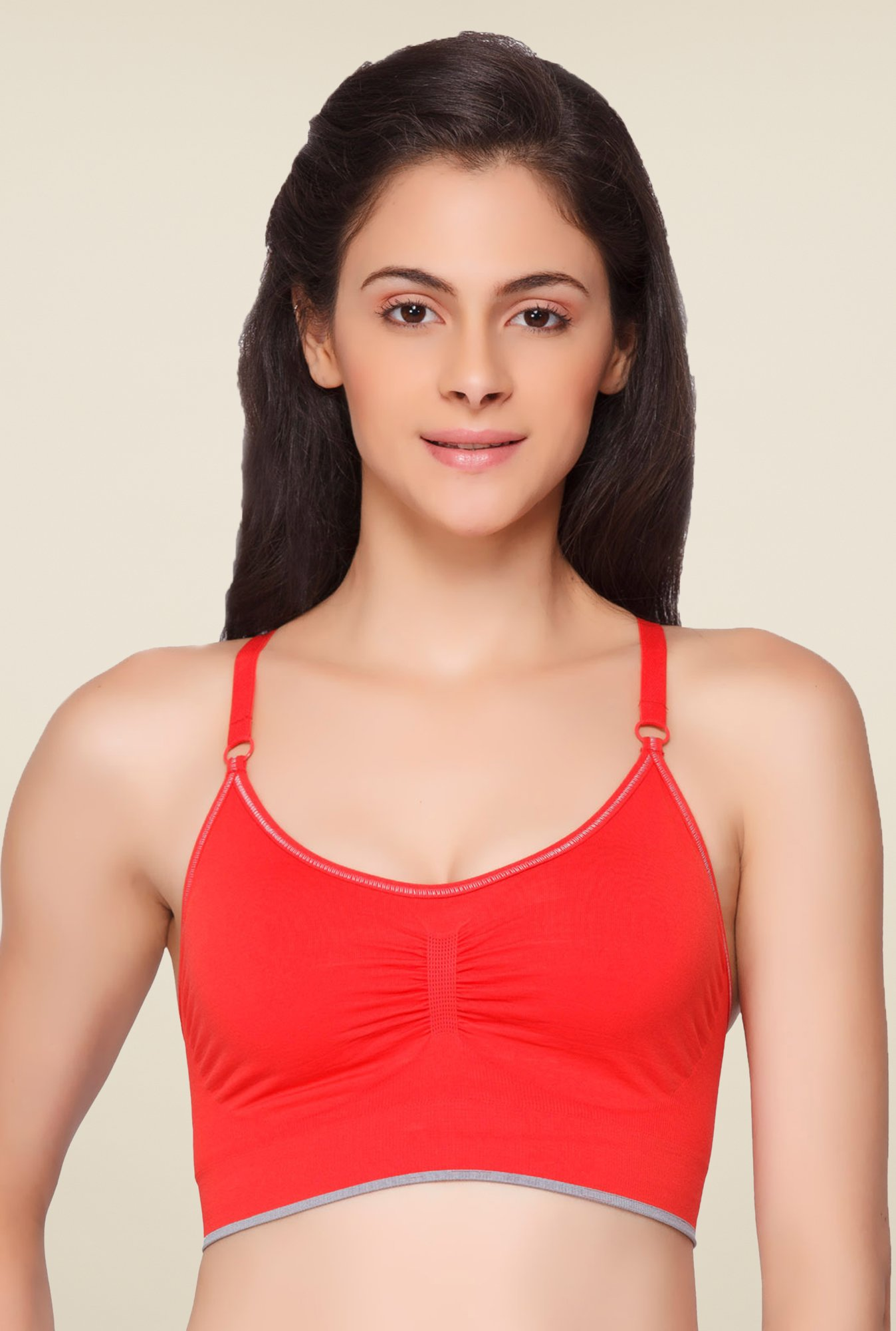 C9 Red Non Padded Bra