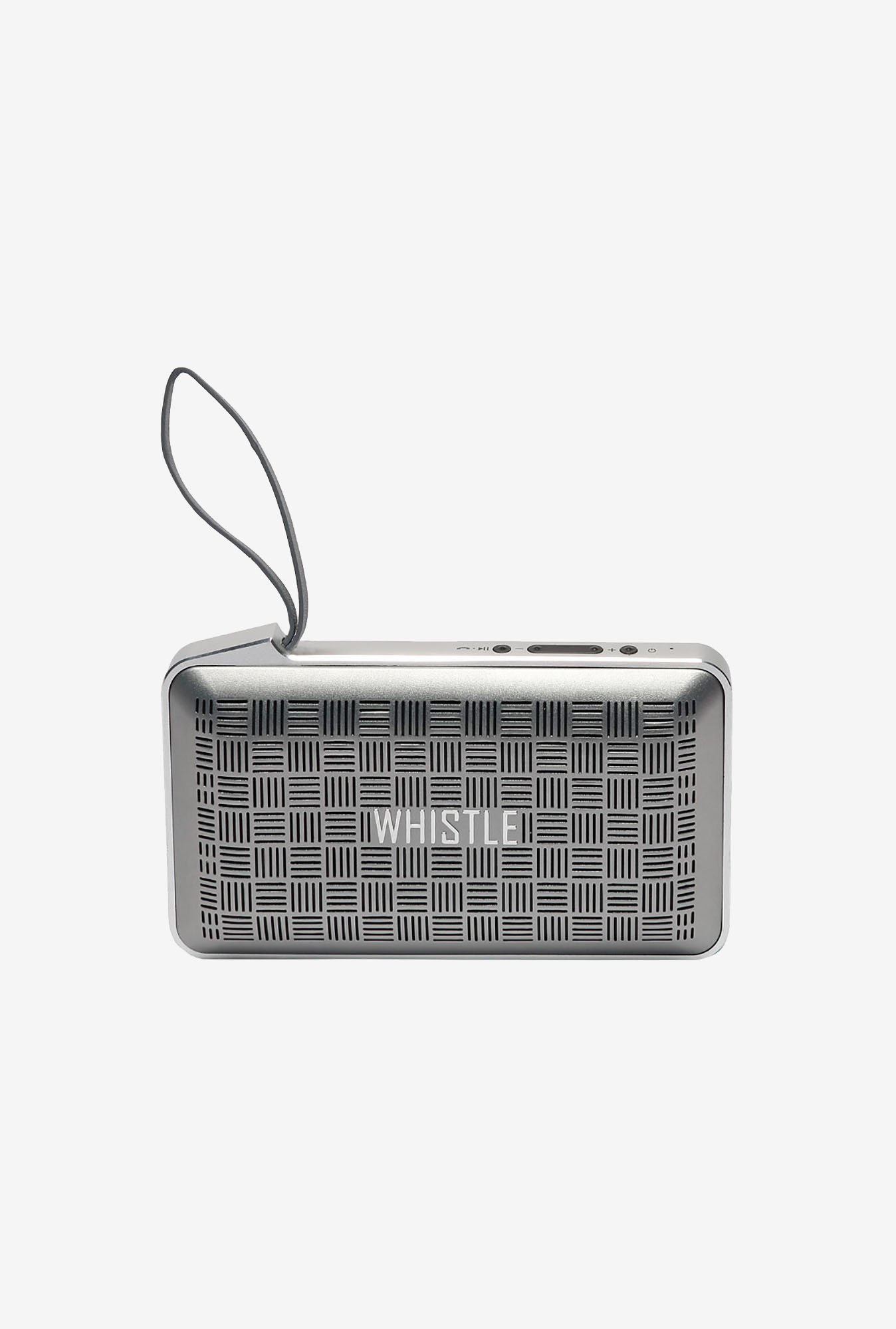 Whistle Smart Portable Bluetooth Speaker (Silver)