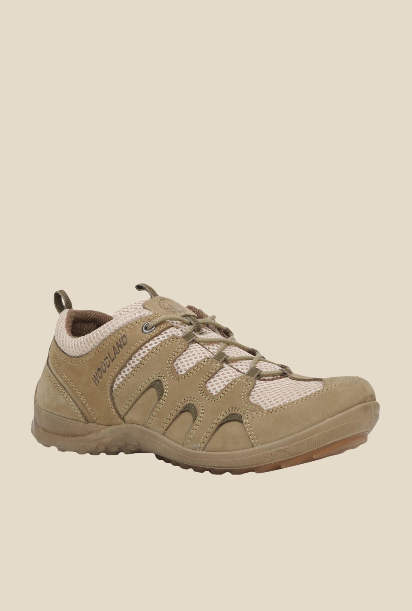 Buy Woodland Khaki Casual Shoes for Men