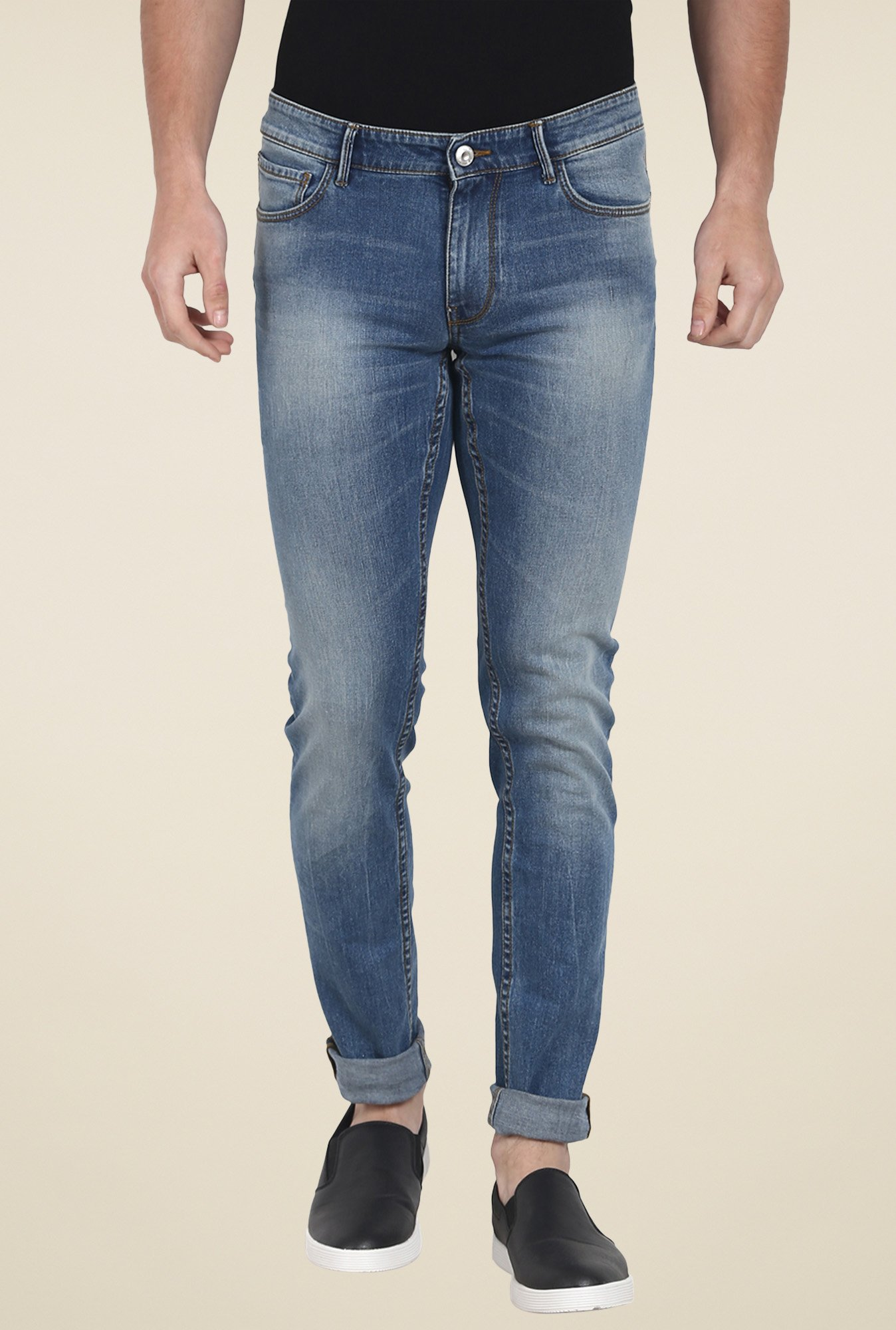 celio* Blue Slim Fit Jeans