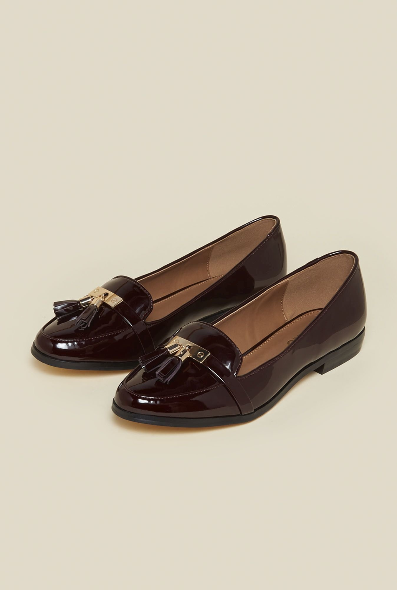 Miss KG by Kurt Geiger Nadia Wine Moccasins
