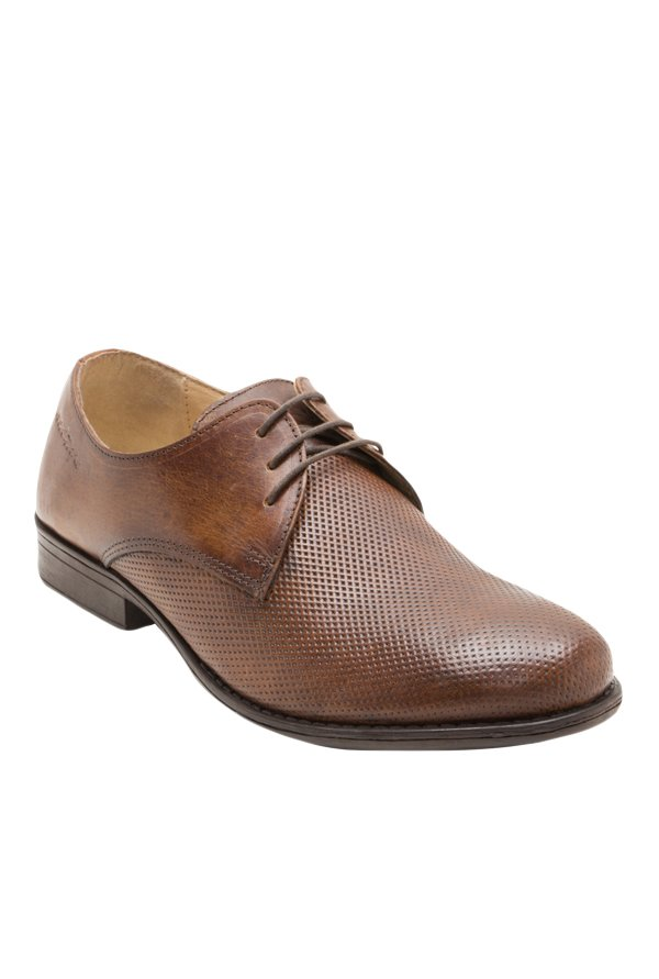 Red Tape Derby Shoes Brown