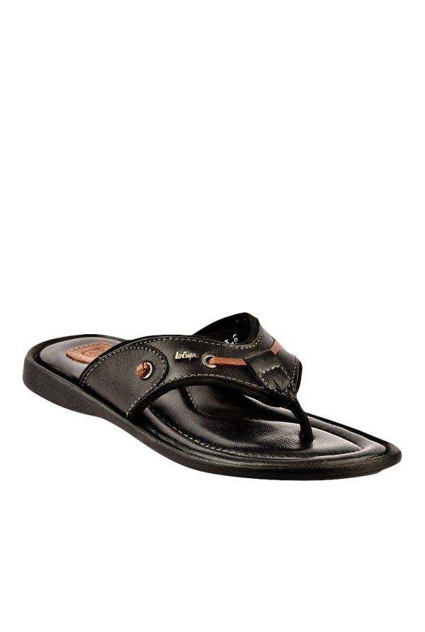 28042ca50a5 Buy Lee Cooper Black Thong Sandals for Men at Best Price   Tata ...