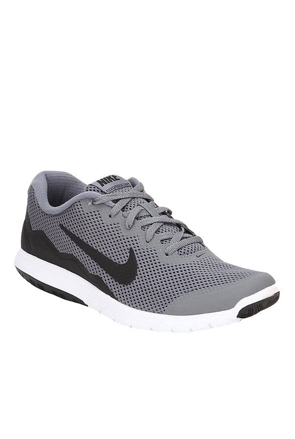 740e93e4a619 Buy Nike Flex Experience Rn 4 Grey   Black Running Shoes for Men at Best  Price   Tata CLiQ
