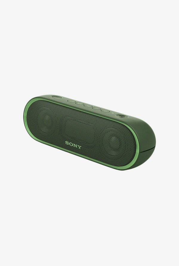 Sony XB20 Portable Wireless Bluetooth Speaker (Green)