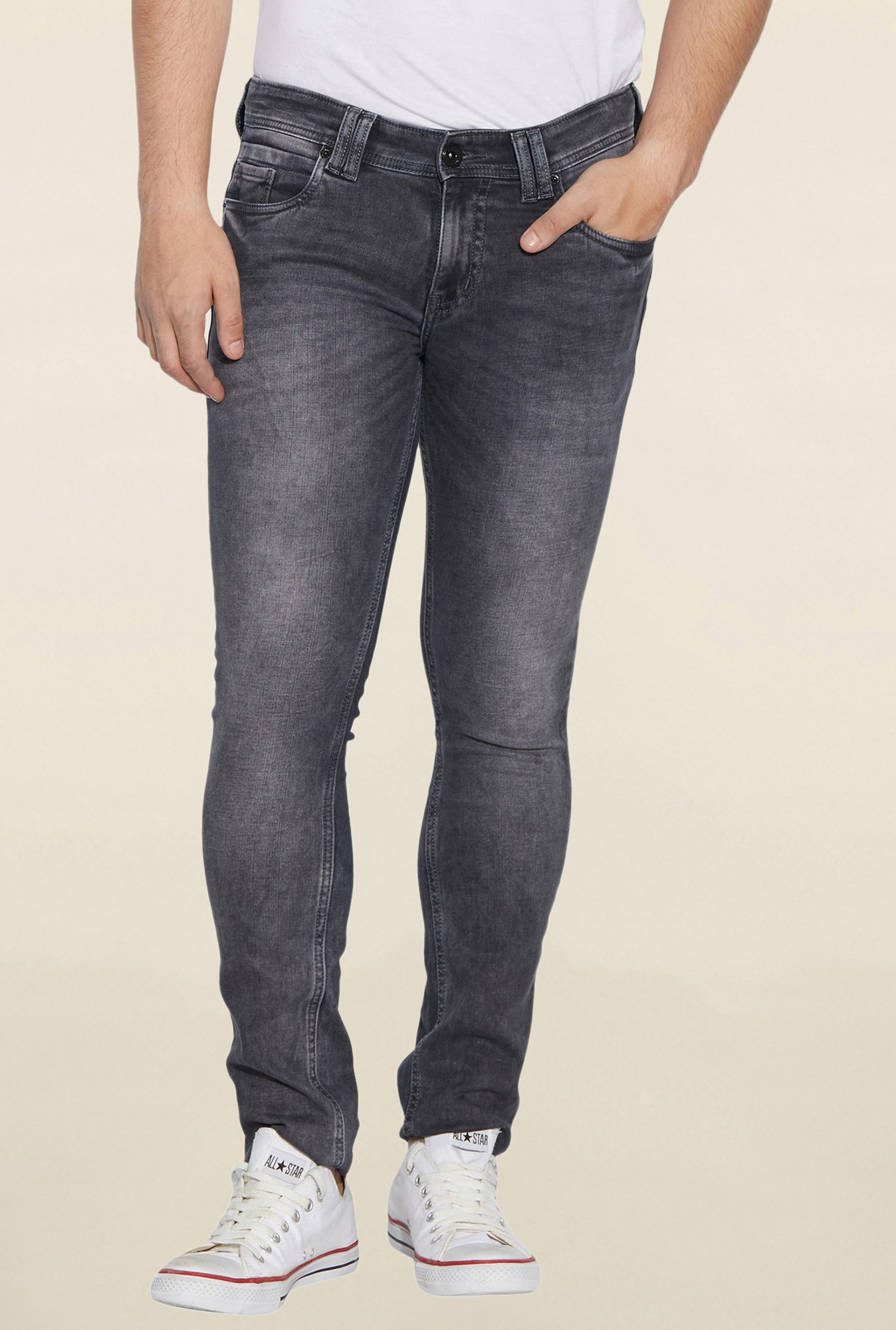 Globus Grey Lightly Washed Jeans