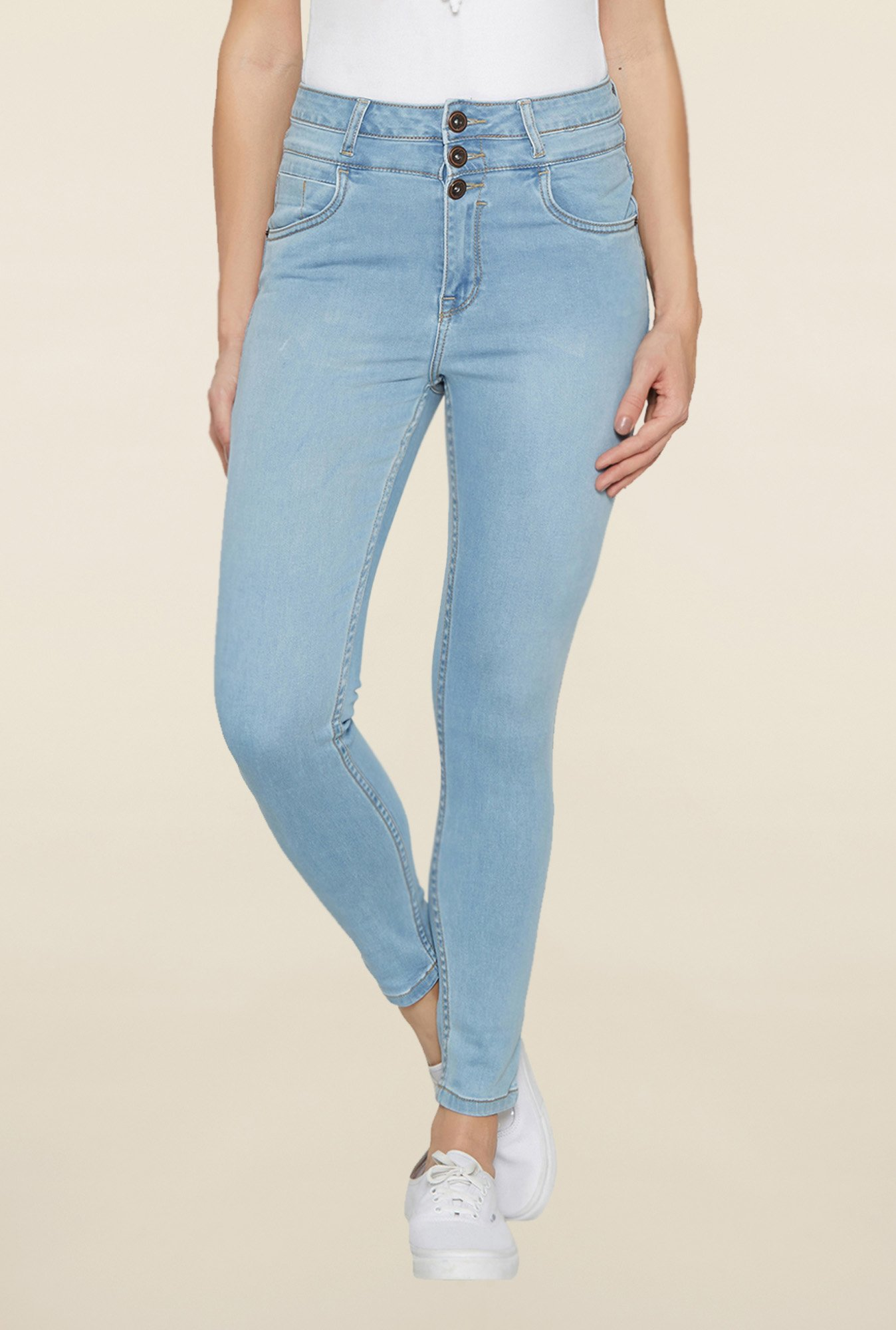 Globus Light Blue Raw Denim Jeans