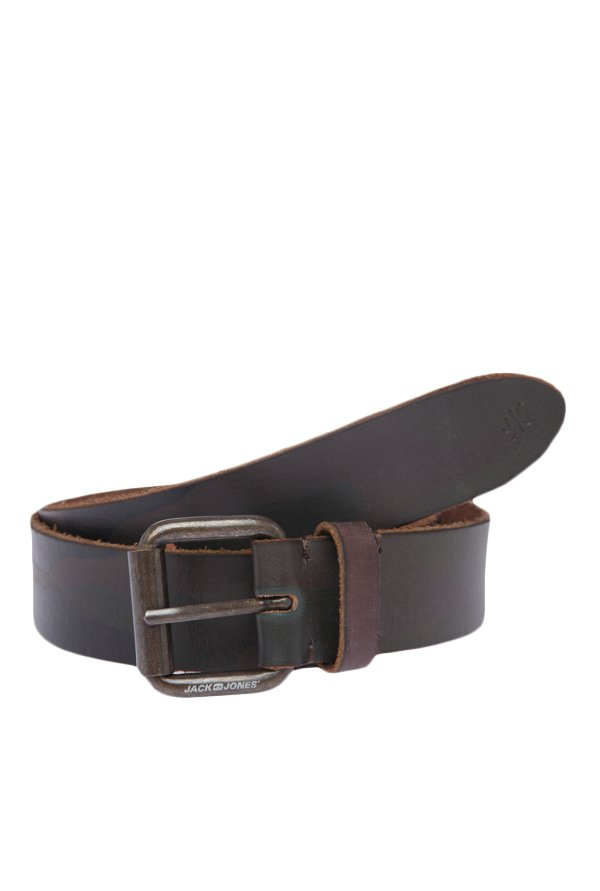 Jack & Jones JJ Camo Print Olive Night Belt