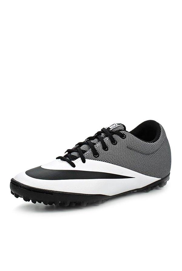 Nike Mercurialx White Black Football Shoes