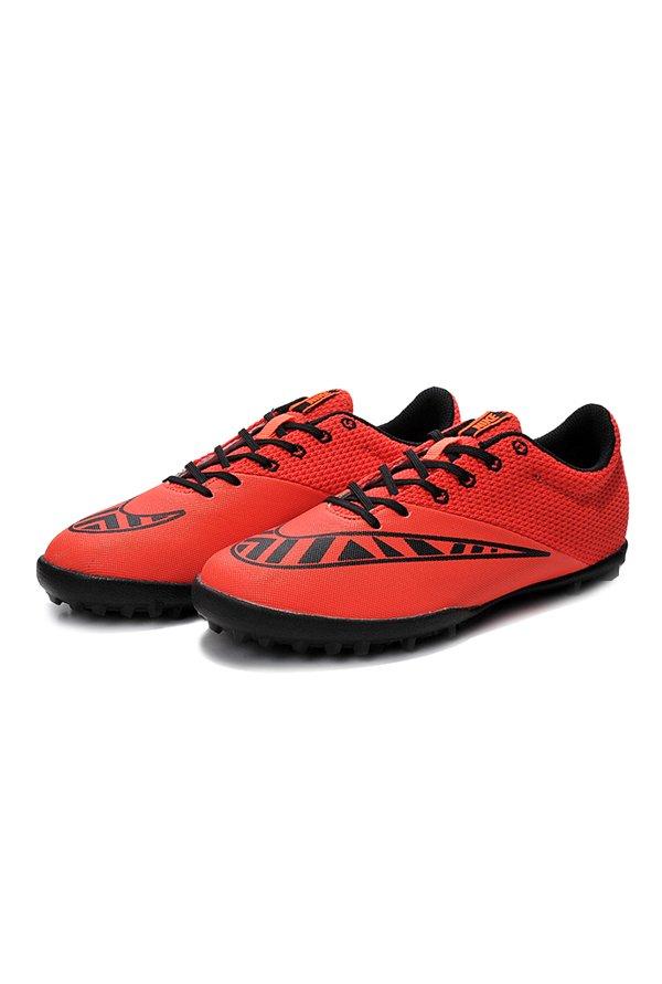 Nike Mercurialx Bright Crimson & Black Football Shoes